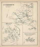 Lyndeborough, Amherst Town, South Lyndeborough, New Hampshire State Atlas 1892 Uncolored
